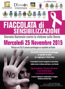 Fiaccolata_25 novembre 2015